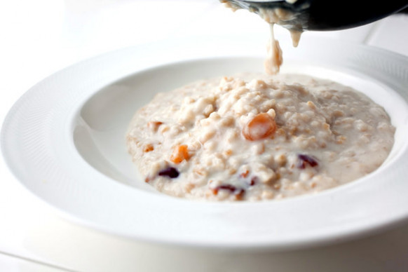 Steel-Cut Oatmeal With Fruit Recipe - NYT Cooking