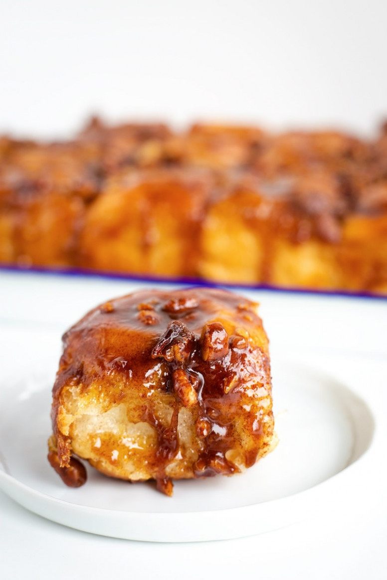 Sticky Buns - Recipe Girl - recipes using rhodes dinner rolls