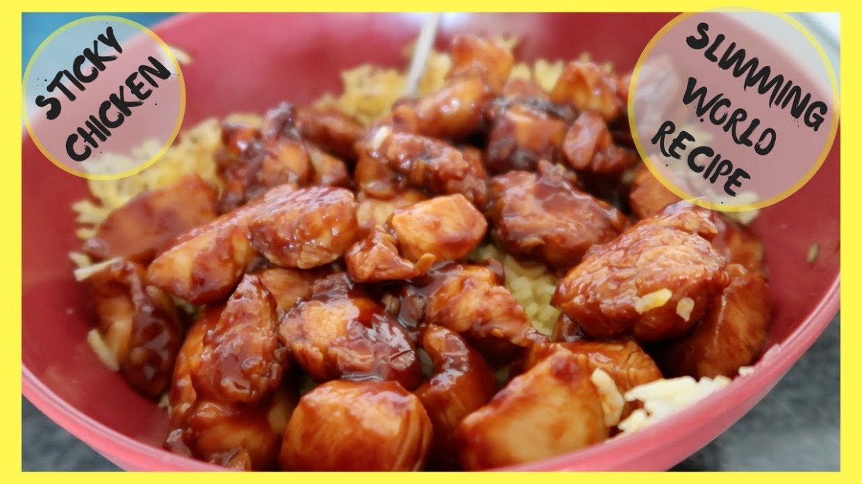 STICKY CHICKEN || COOK WITH ME || SLIMMING WORLD || EASY FAMILY RECIPE - family recipes chicken