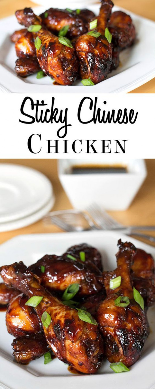 Sticky Chinese Chicken | Soy Chicken, Glaze And Casual ..