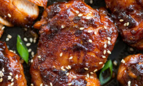 Sticky Korean Chicken – Chicken Recipes Korean