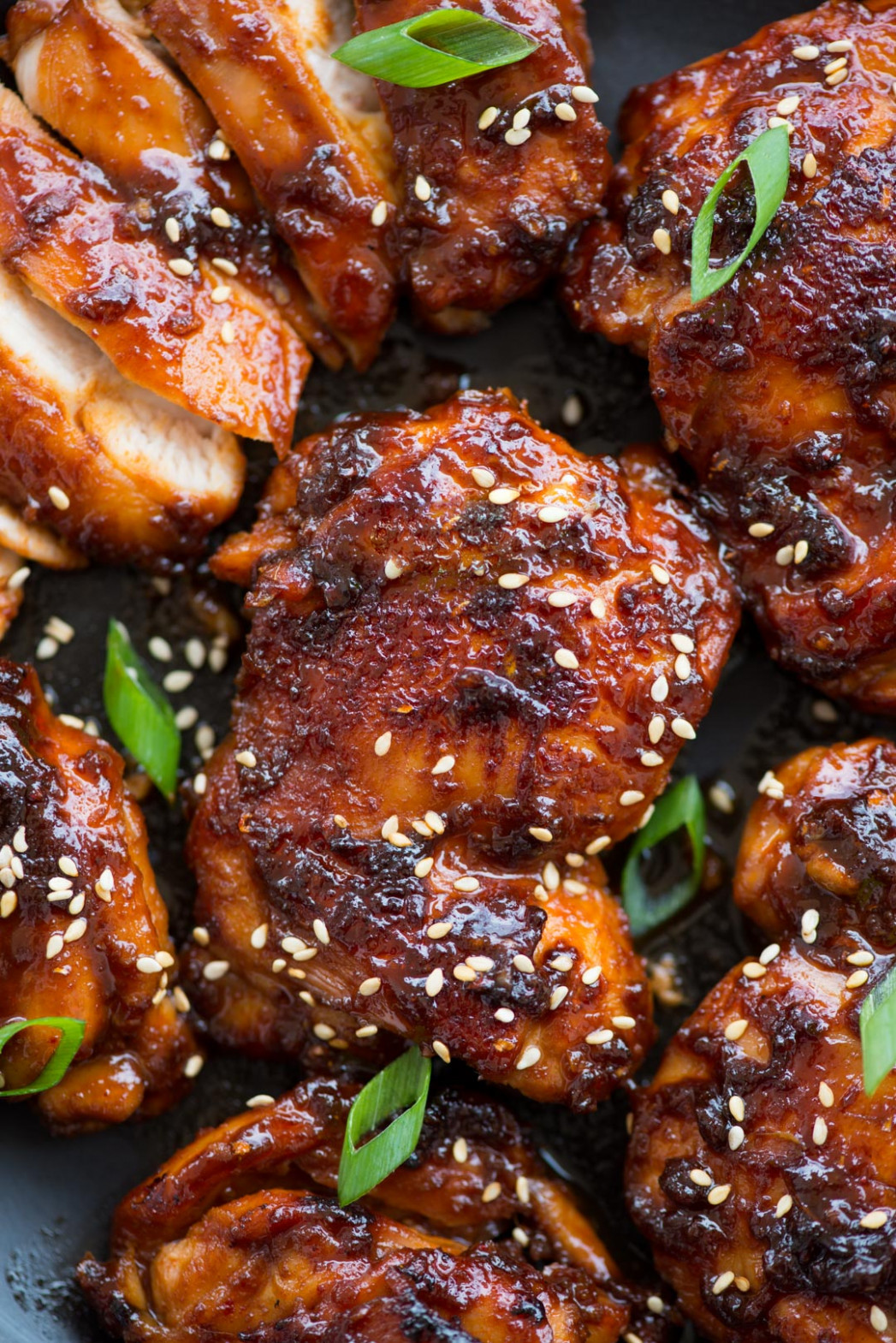 Sticky Korean Chicken - chicken recipes korean