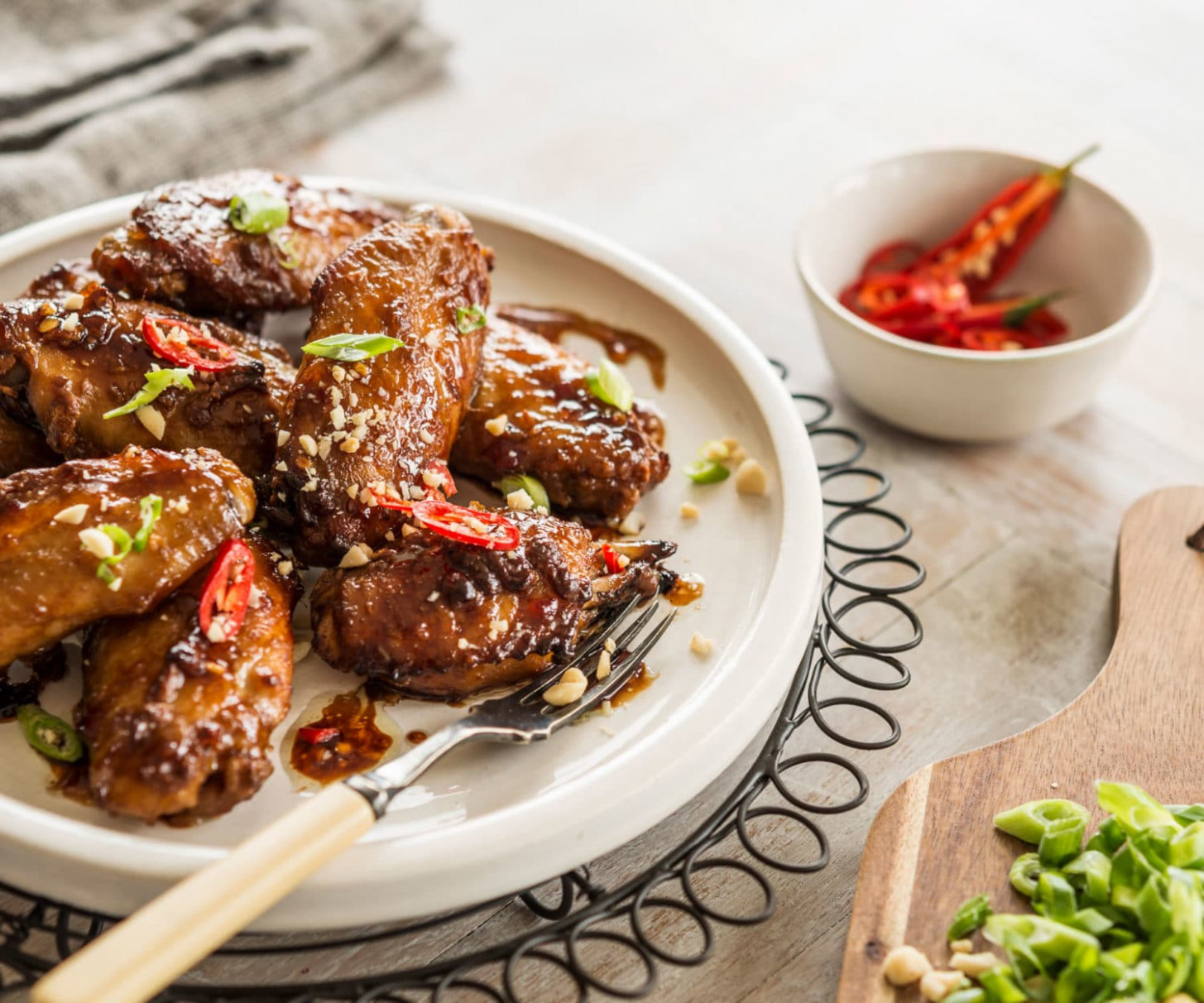 Sticky Satay Chicken Nibbles | Nadia Lim - Chicken Recipes Nadia Lim
