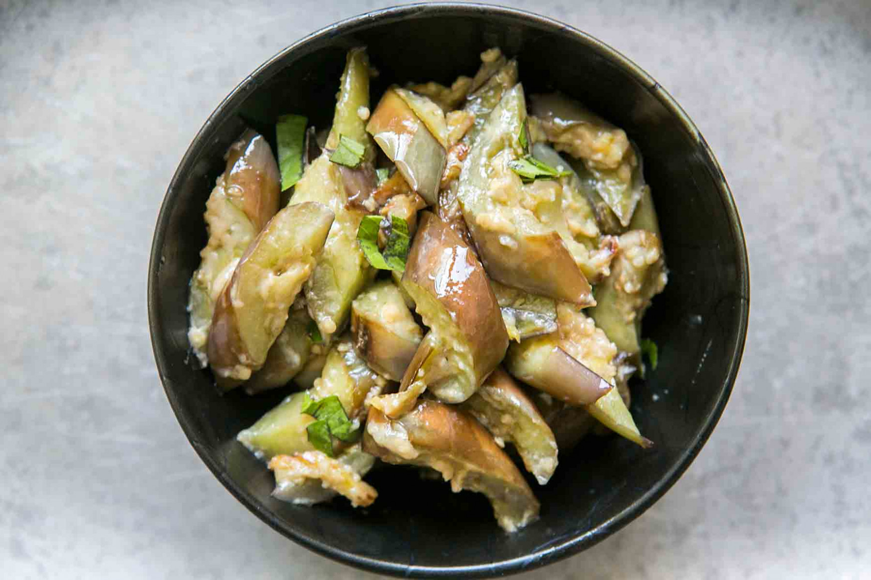 Stir Fried Japanese Eggplant with Ginger and Miso - recipes japanese food