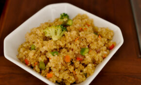 Stir Fried Quinoa With Veggies – Rice Recipes Vegetarian