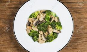 Stock Photo – Healthy Chicken And Mushroom Recipes