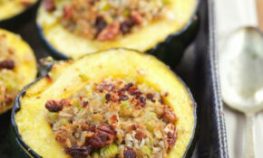 Stuffed Acorn Squash (Grain Free, Paleo, Gaps) | Recipe ..