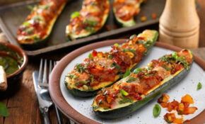 Stuffed Baby Marrow | Vegetarian | Marrow Recipe ..