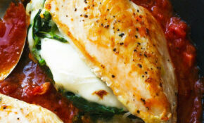 Stuffed Chicken Breast With Mozzarella And Spinach ..