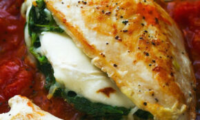 Stuffed Chicken Breast With Mozzarella And Spinach | MAIN ..