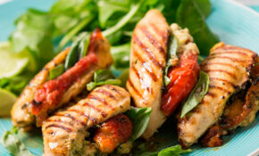 Stuffed Chicken Fillets – Recipe Vegetarian Hamburger