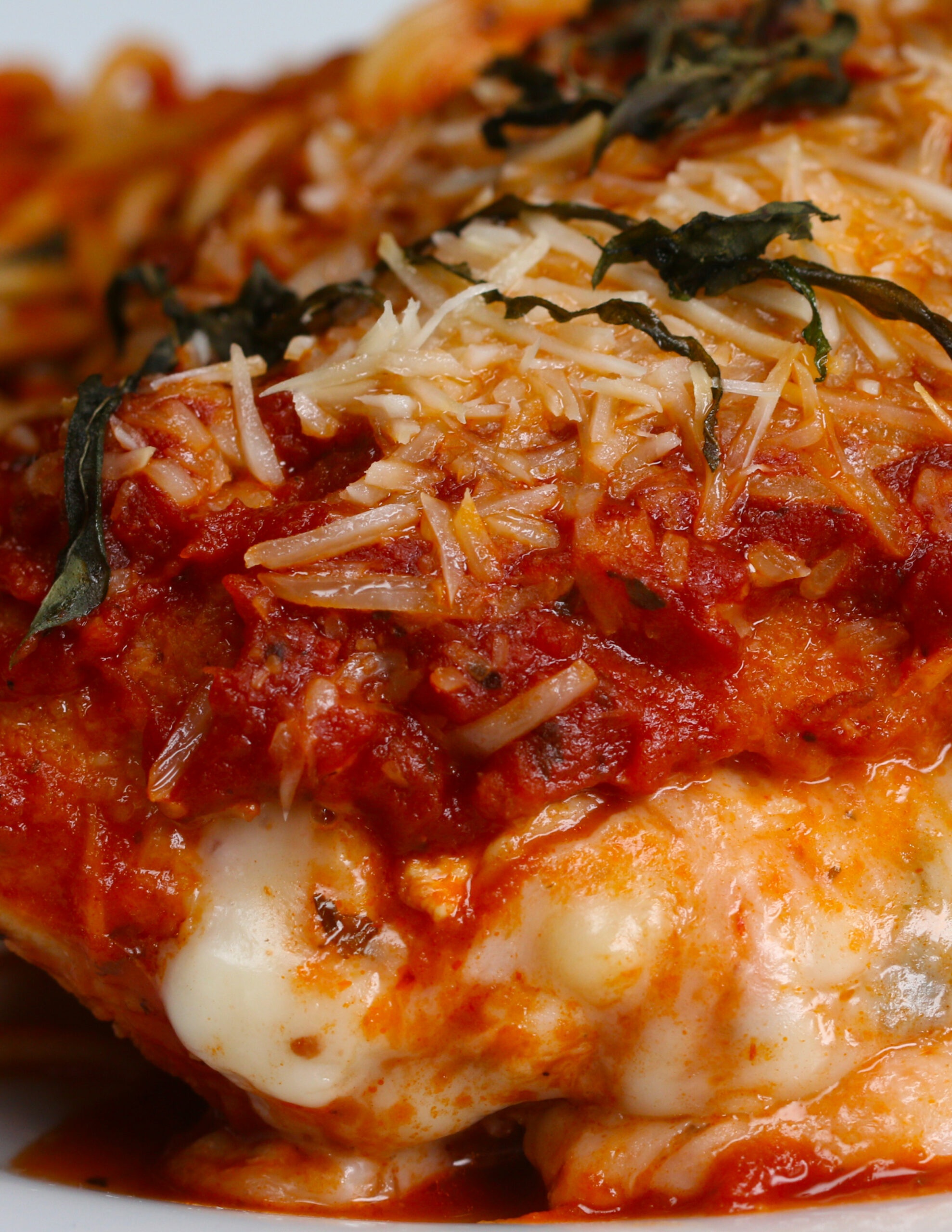 Stuffed Chicken Parmesan - Recipes With Chicken For Dinner