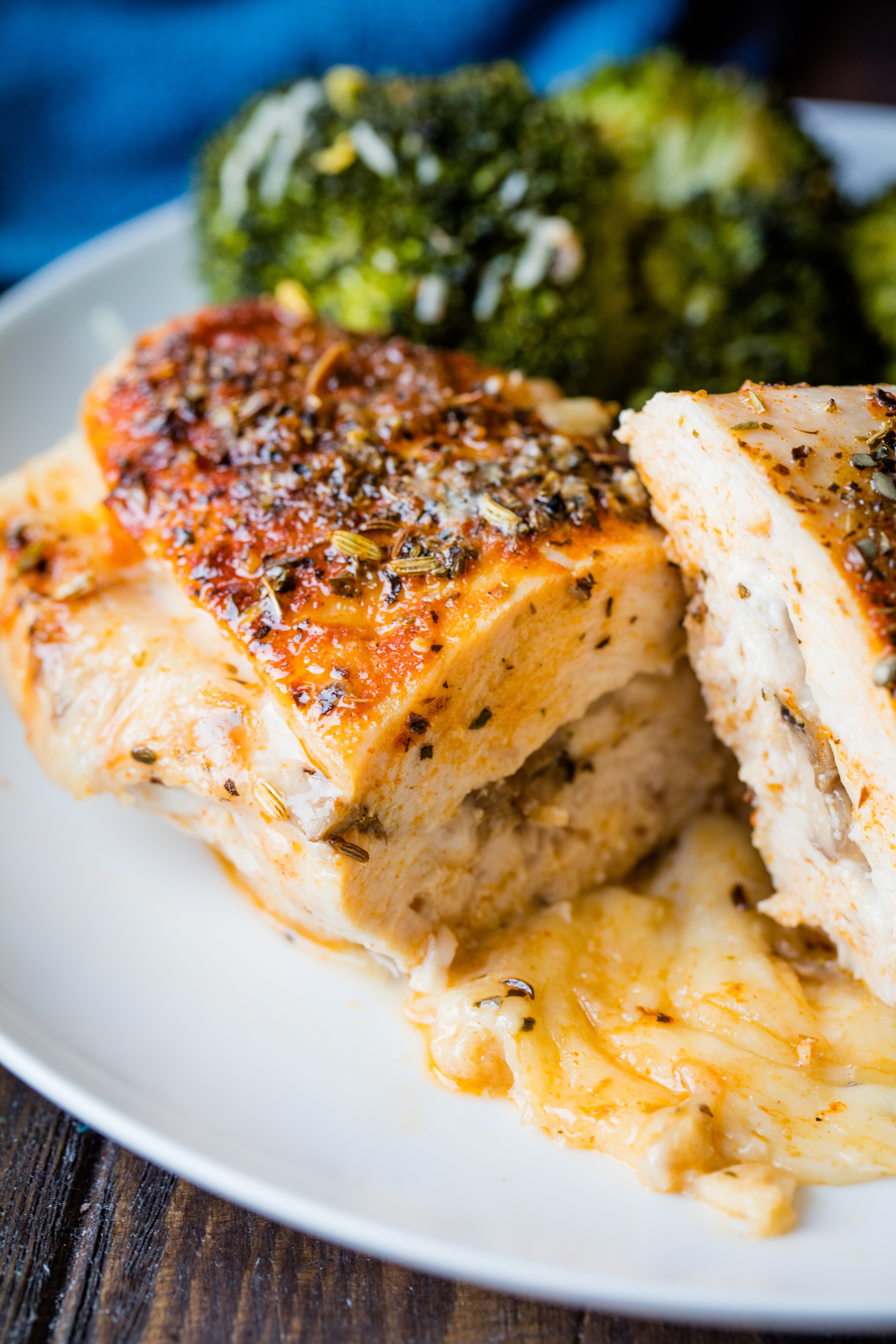 Stuffed Herbed Chicken Breasts - recipes to make with chicken breast