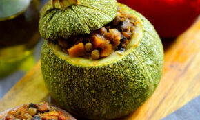Stuffed Round Zucchini (Vegan Petits Farcis) | Cilantro And ..