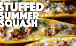 Stuffed Summer Squash – Healthy Recipe Channel – YouTube – Healthy Recipes Youtube Channels