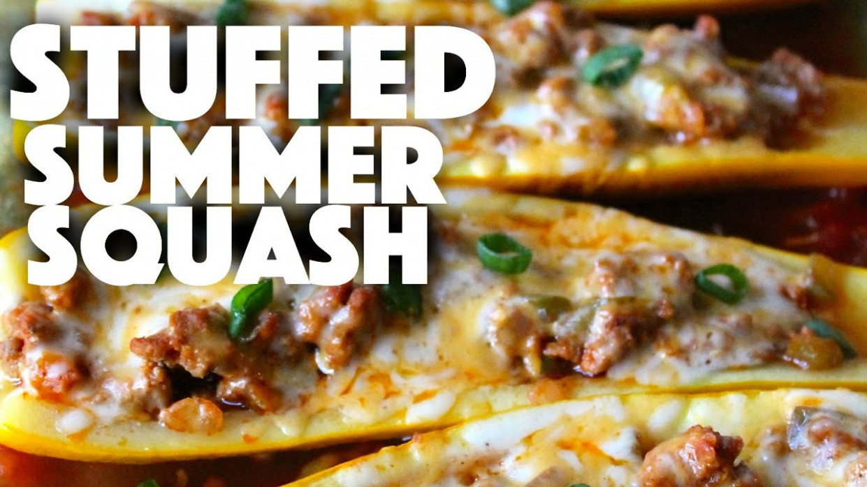 Stuffed Summer Squash - Healthy Recipe Channel - YouTube - healthy recipes youtube channels
