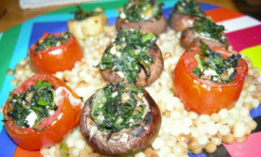 Stuffed Tomatoes And Mushrooms – Recipes Stuffed Mushrooms Vegetarian