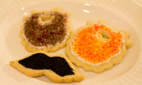 Sugar Cookies – Beards And Mustaches – Recipes Using Angel Food Cake Mix