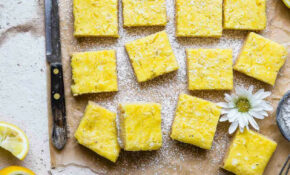 Sugar Free Keto Low Carb Lemon Bars | Food Faith Fitness – Healthy Recipes With Xylitol