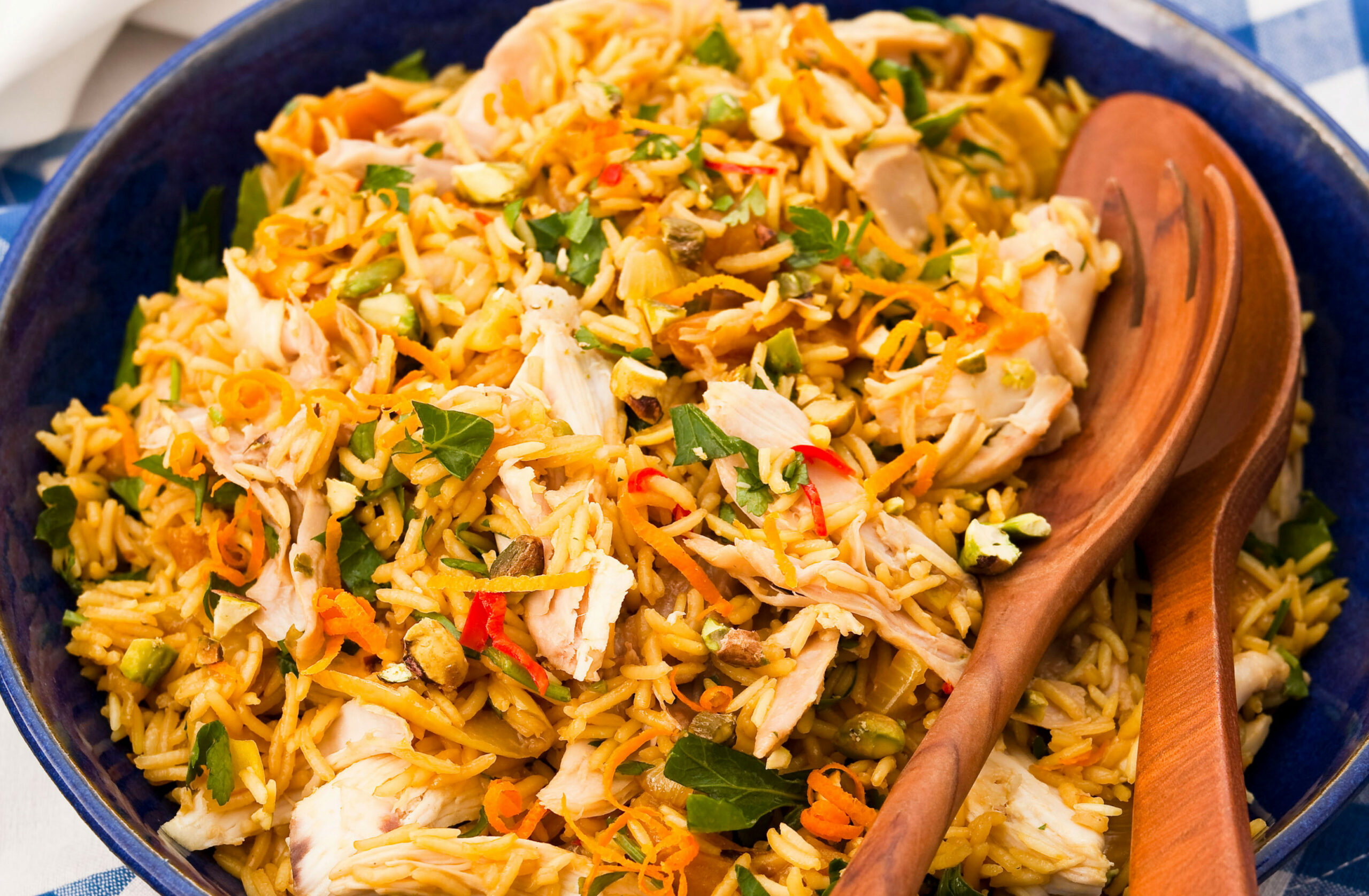 Summer chicken pilaff - summer recipes chicken