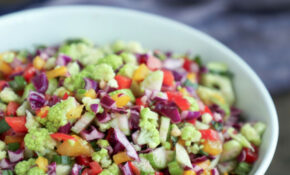 Summer Confetti Salad Low Carb And Gluten Free – Recipes Low Carb Healthy