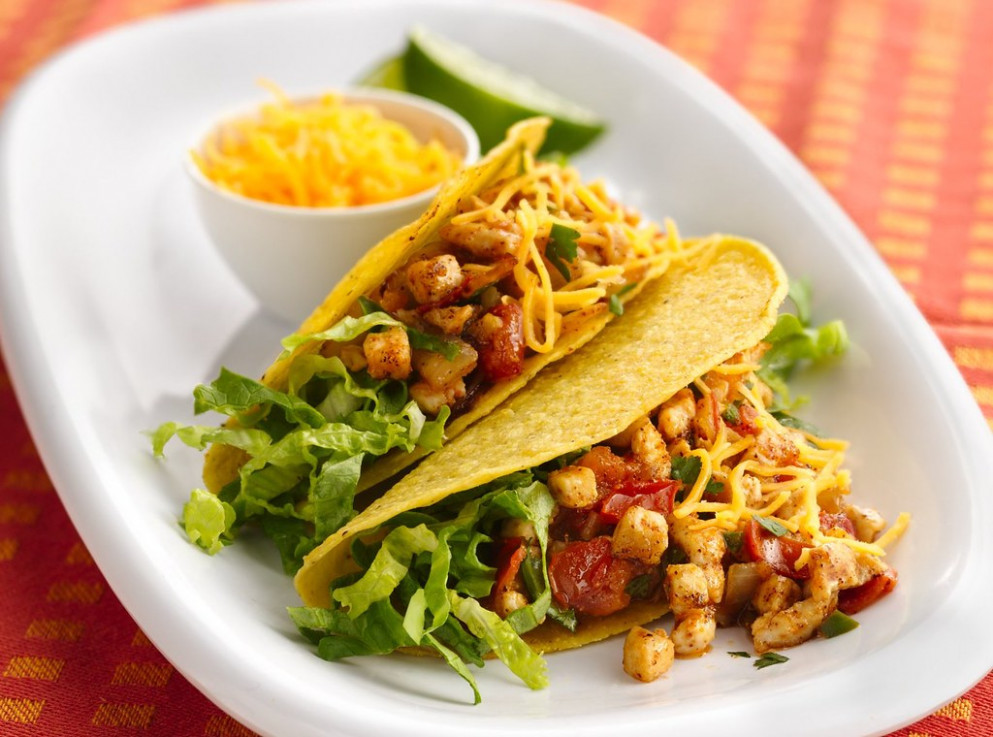 Summer-Fresh Chicken Tacos - taco recipes chicken