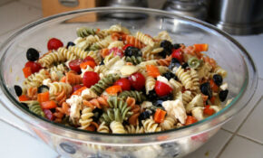 Summer Pasta Salad (gluten Free Option, Vegan Option ..
