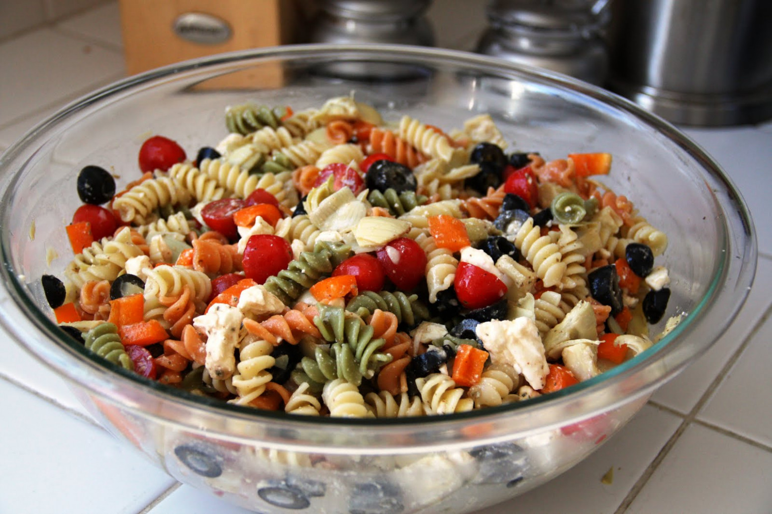 Summer Pasta Salad (gluten-free option, vegan option ..