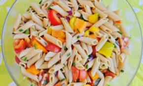 Summer Pasta Salad – Healthy Pasta Recipes Vegetarian