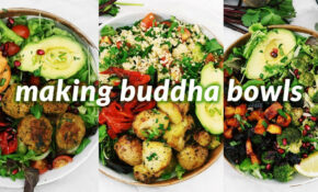 Summer Vegan Buddha Bowls | 10 Easy Vegan Recipes – Healthy Vegetarian Recipes Youtube