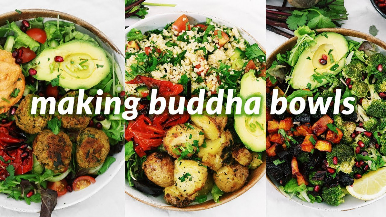 summer vegan buddha bowls | 10 easy vegan recipes - healthy vegetarian recipes youtube