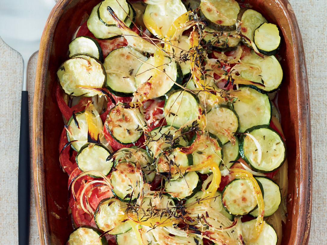Summer-Vegetable Casserole - recipes vegetarian casseroles