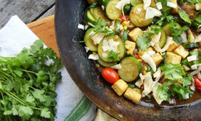 Summer Vegetable Coconut Curry Main Sq – Recipes Low Calorie Vegetarian