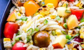 Summer Vegetable Orzo Salad – Recipe Runner – Orzo Recipes Vegetarian