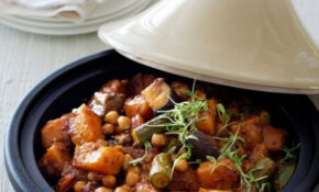 Summer Vegetable Tagine – A Complete Vegetarian Meal Made ..