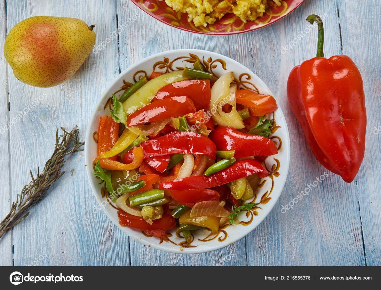 Suoman Gush Siz Delicious Dish Vegetables Peppers Uyghur ..