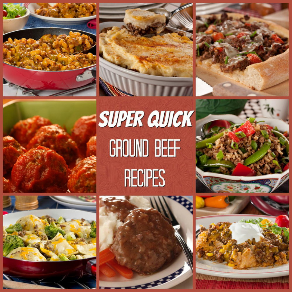 Super Quick Ground Beef Recipes Traditional Cooking School - recipes with ground beef healthy