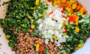 Super Tasty Lentil Salad – Spread The Word! | Jittery Cook – Healthy Recipes Lentils