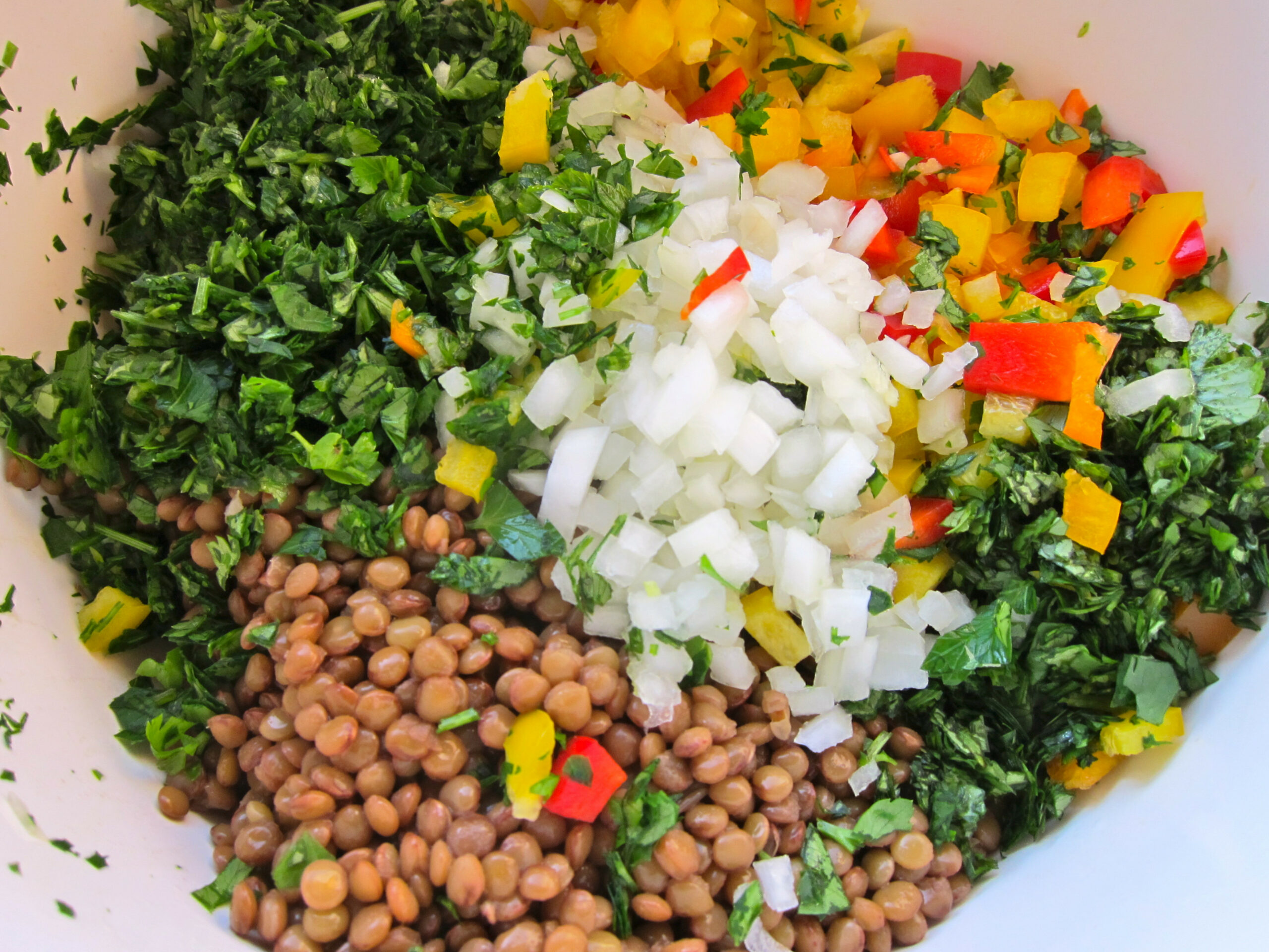 Super Tasty Lentil Salad – Spread the Word! | jittery cook - healthy recipes lentils