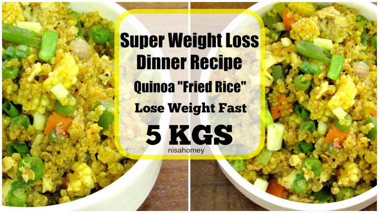 Super Weight Loss Quinoa Fried Rice - Fat Burning Meal ..