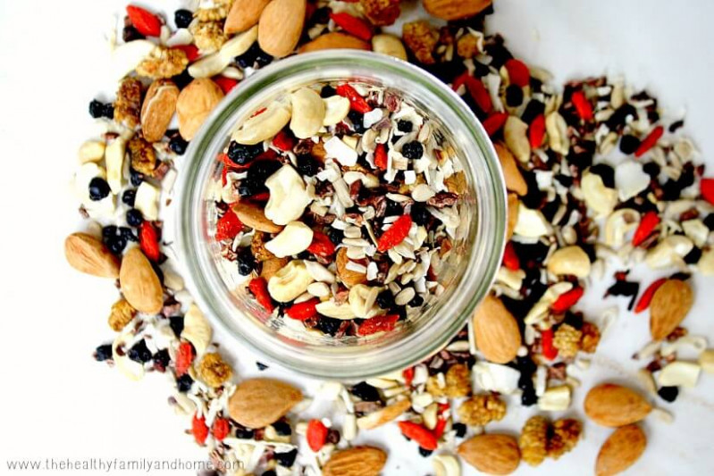 Superfood Fruit Nut and Seed Snack Mix | The Healthy ..