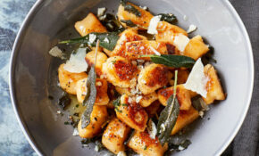 Swede Gnocchi With Crispy Sage – Recipes With Gnocchi Vegetarian