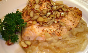 Sweet Almond Salmon – Food Recipes To Gain Weight