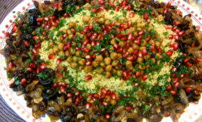 Sweet and Savory Moroccan Couscous