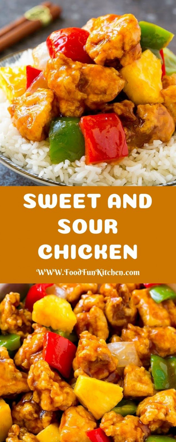 SWEET AND SOUR CHICKEN | Food Fun Kitchen | Dinner Recipes ..