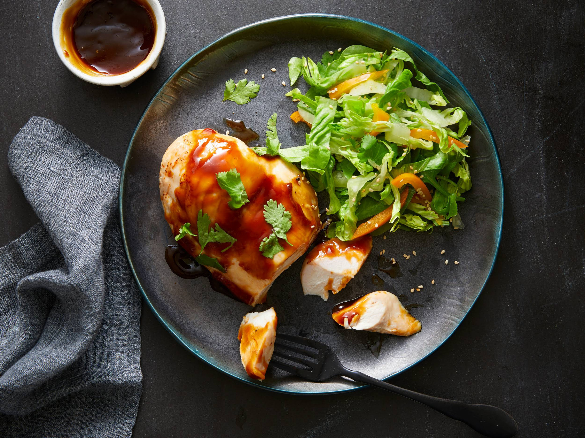 Sweet and Sour Glazed Chicken Breasts - yummly recipes chicken