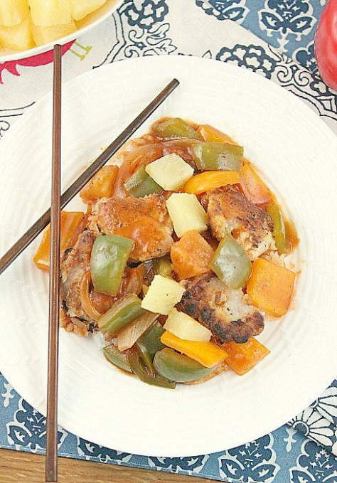 Sweet and Sour Pork (Low Calorie, No Sugar Added)   Recipe ..