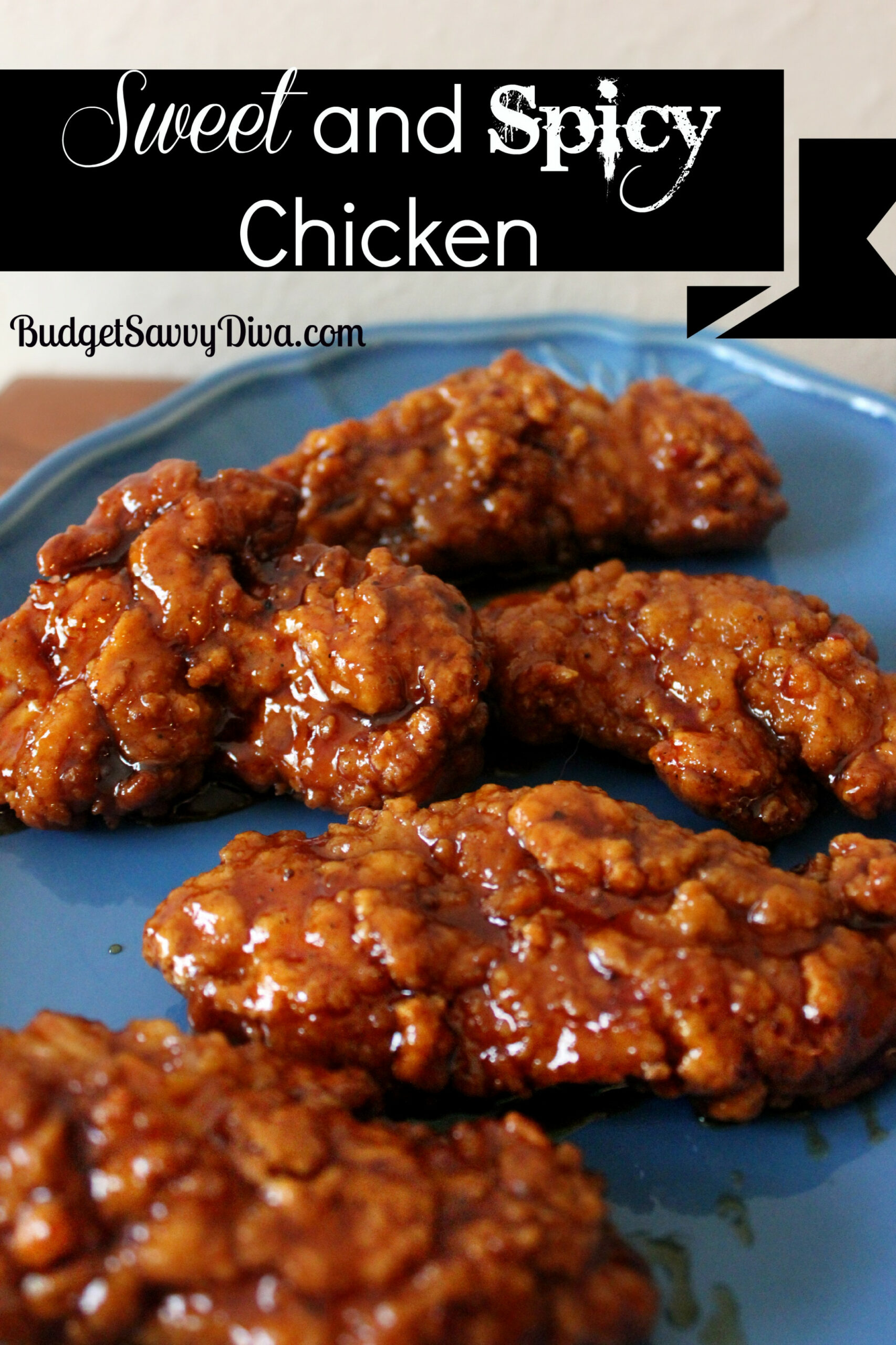 Sweet And Spicy Chicken Recipe - Budget Savvy Diva - Chicken Recipes Spicy