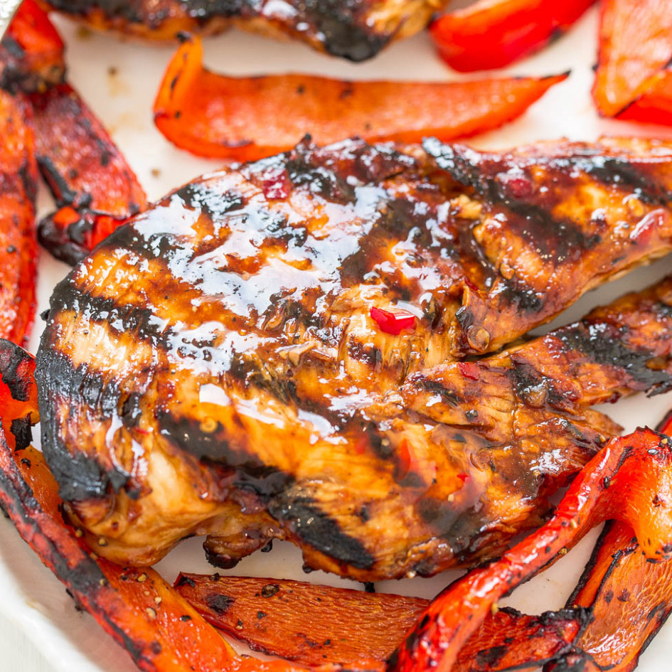 Sweet Chili Grilled Chicken - recipes with grilled chicken