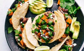 Sweet Potato And Black Bean Tacos – Recipe Vegetarian Tacos Filling